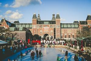 I amsterdam Sign Netherlands
