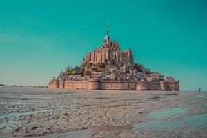Mont Saint Michel France beach
