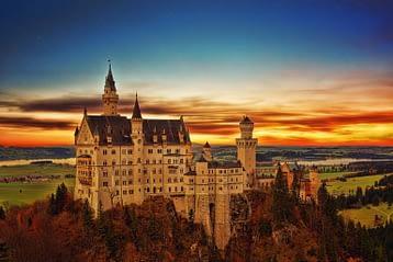 Neuschwanstein castle Germany Schwangau