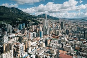 what to do in bogota - views from walk